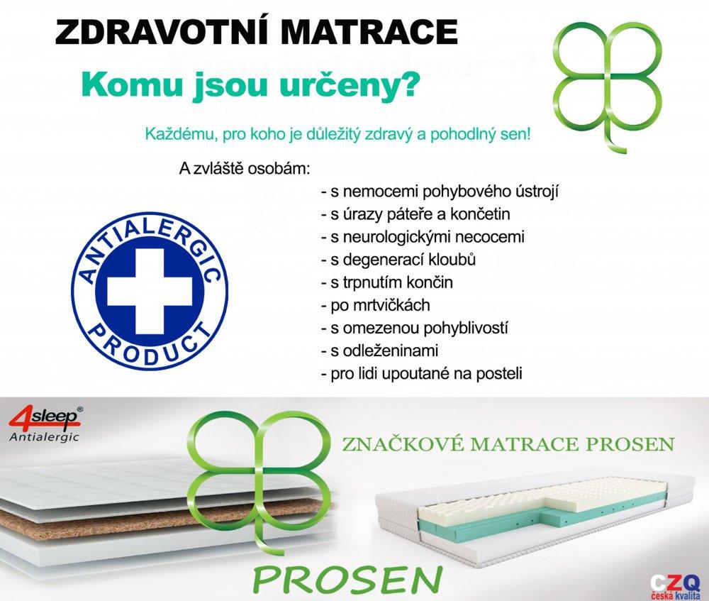 zdravotní matrace prosen