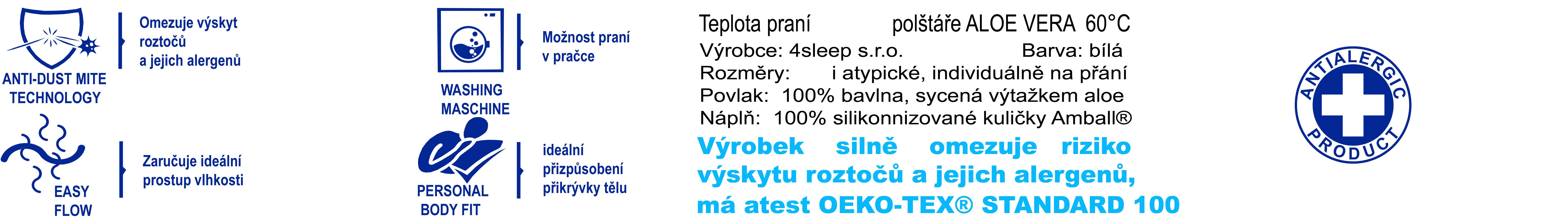 4sleep.cz antialergická přikrývka Aloe veraaloe-vera-60-c-1